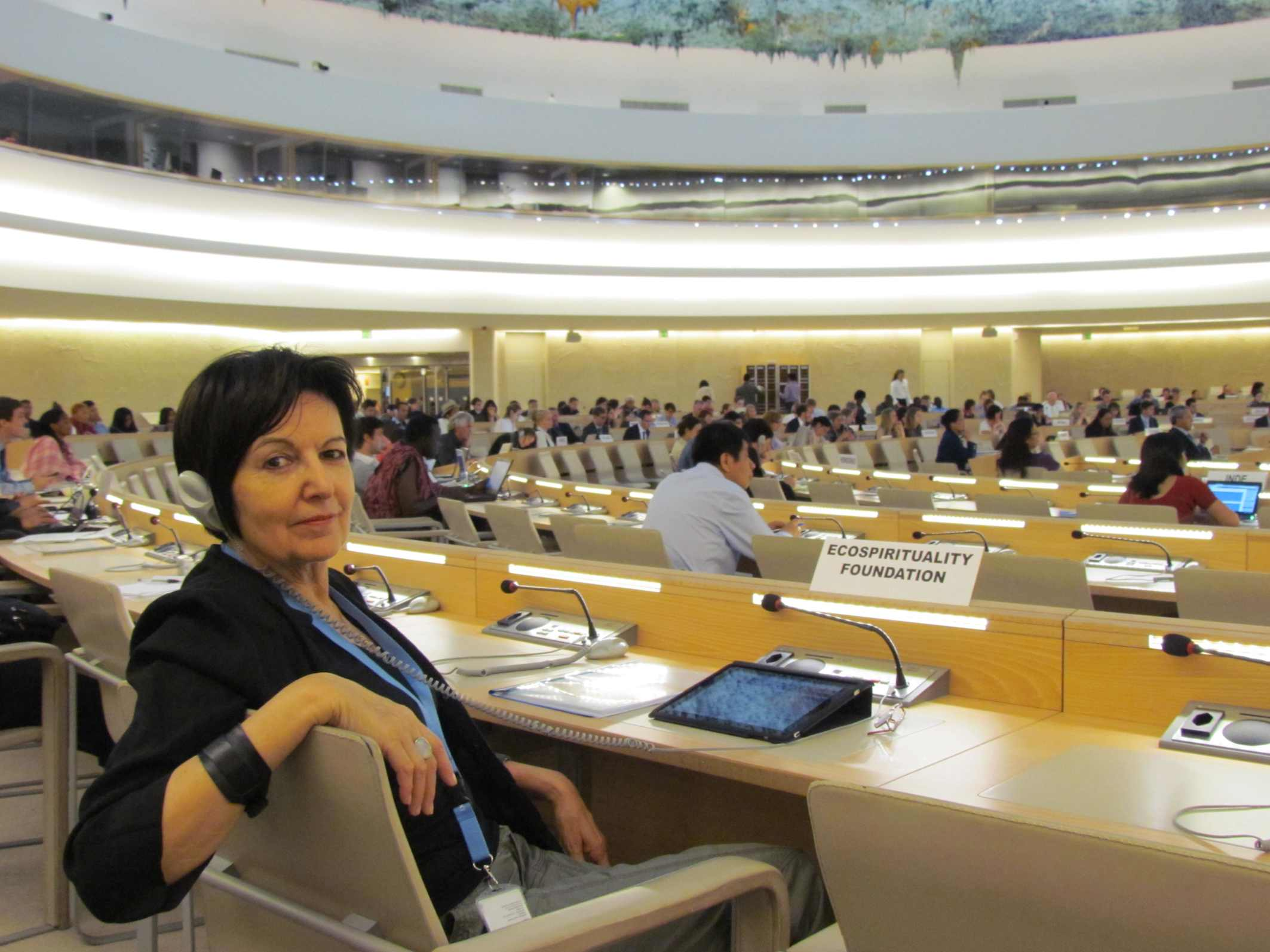 Rosalba Nattero all'ONU di Ginevra per l'Expert Mechanism on the Rights of Indigenous Peoples